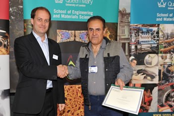 Hussein Ershadi Oskoi wins Beckers Research Poster Prize