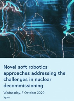 "Talk by Prof Kaspar Althoefer at the IET on ""Novel soft robotics approaches: Addressing the challenges in nuclear decommissioning"""