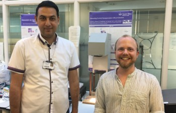 Dr Fuad Alhaj Omar and Dr Joe Briscoe