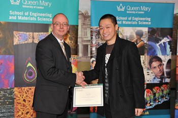 Zhipeng Gao wins Artis Research Poster Prize